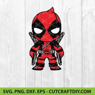 Deadpool SVG Cut File