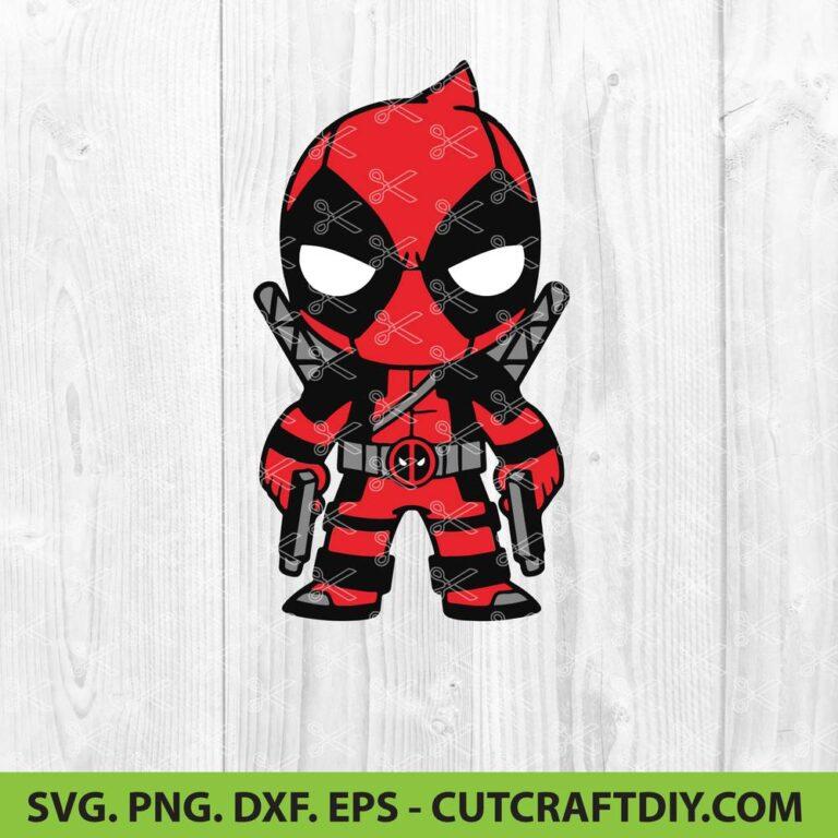 Deadpool SVG Cut File