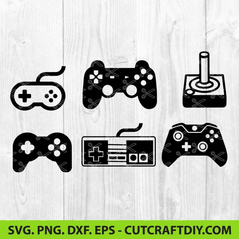 Old school game controller SVG