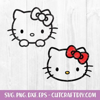 FREE Hello Kitty SVG
