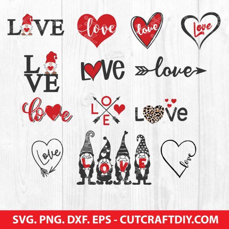 Love SVG Bundle