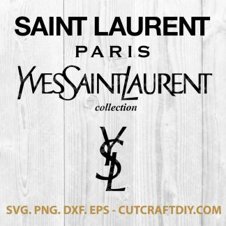 Yves Saint Laurent Logo SVG