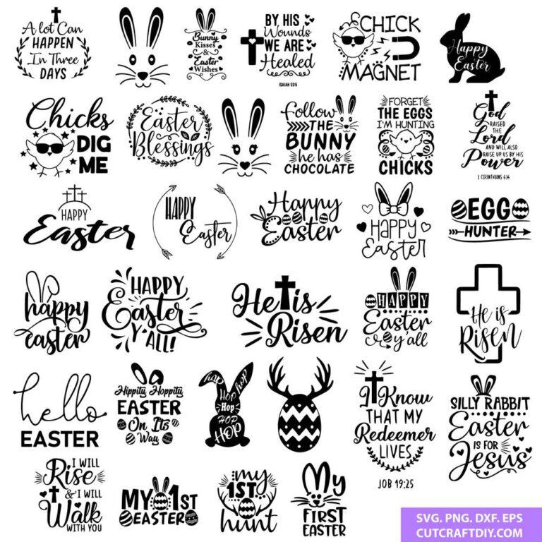 Easter SVG Mega Bundle