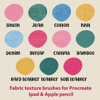 FABRIC PROCREATE BRUSHES