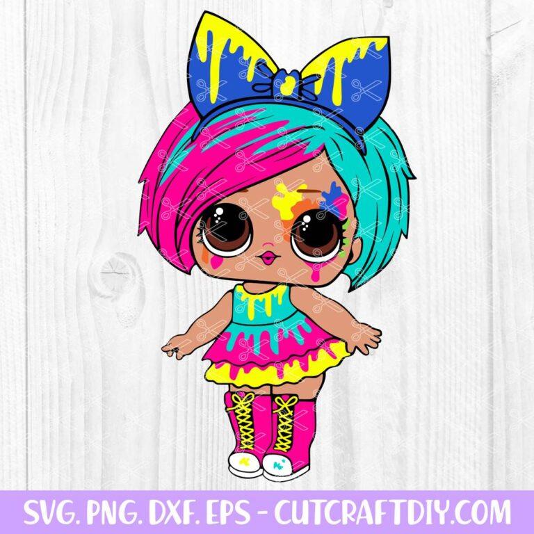 Lol Surprise Dolls Splatters SVG