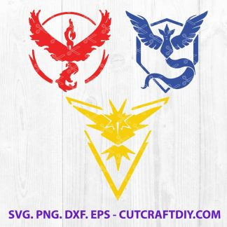 Pokemon Go Team SVG
