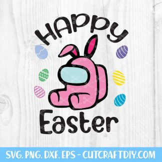 Among Us Easter SVG