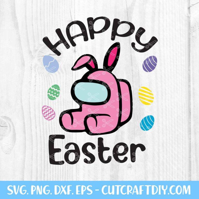 Among Us Easter SVG