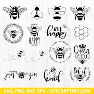 Bee SVG Cut File