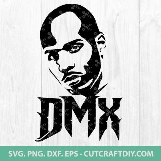DMX Rapper SVG