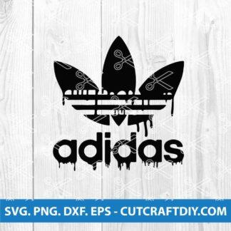 Adidas Dripping Blood SVG