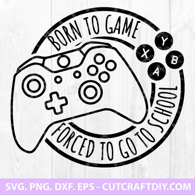 Born to game SVG