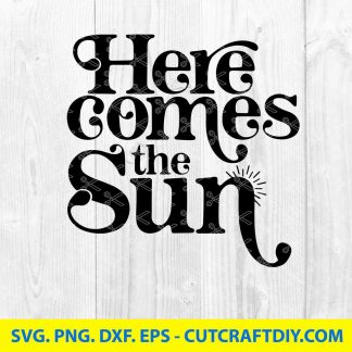 Here comes the sun SVG