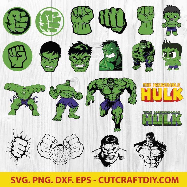 The Incredible Hulk SVG