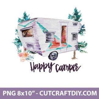 Happy Camper PNG