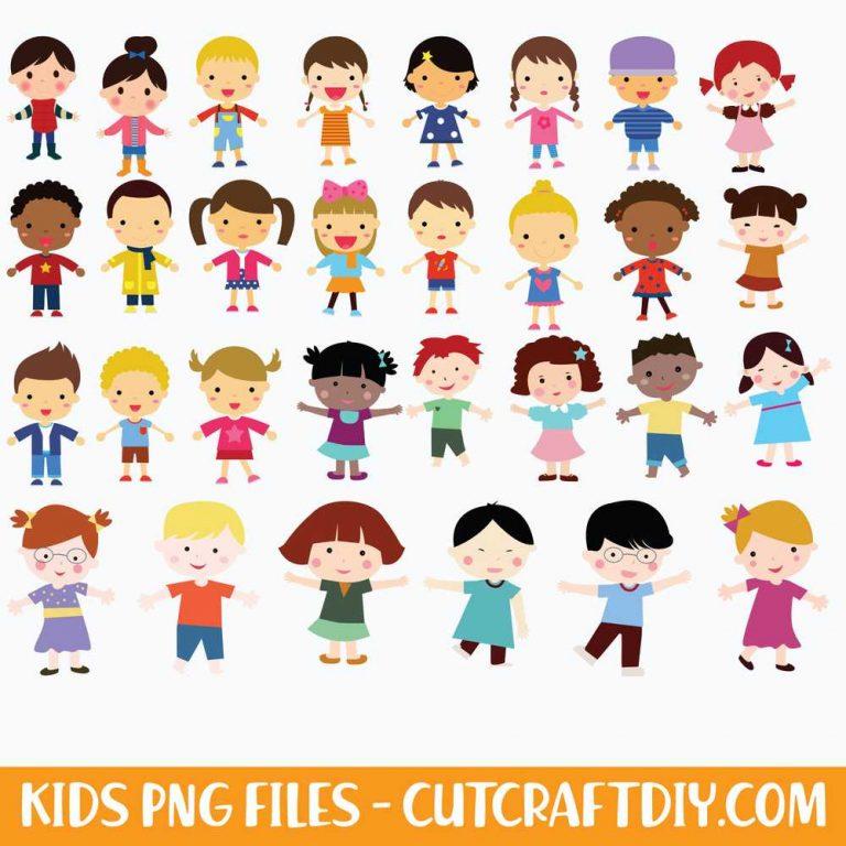 Kids PNG Files