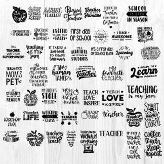 Teacher Bundle SVG