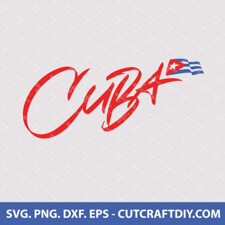 Cuba SVG Cut File