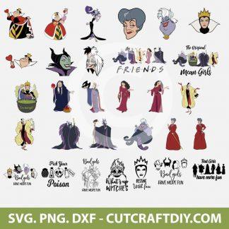 Halloween Villains SVG