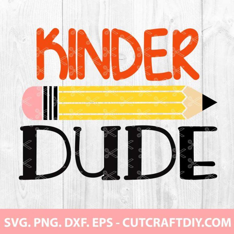 Kindergarten Dude SVG