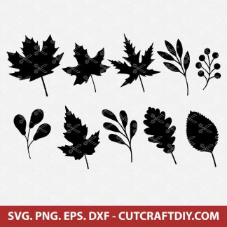 Fall Leaves SVG Bundle