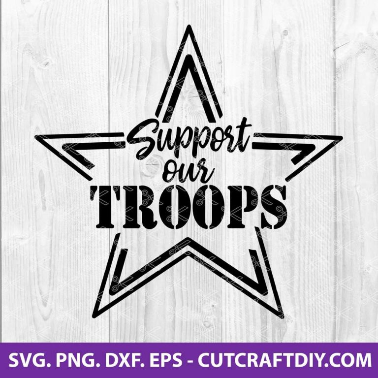 Support Our Troops Svg