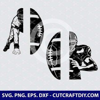 Football Player SVG