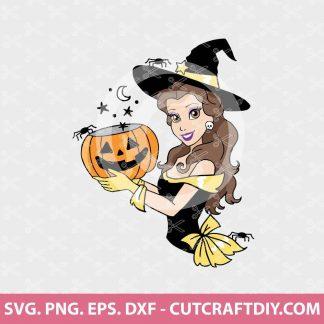 Disney Princess Halloween SVG