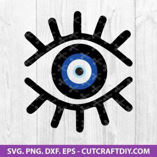 Evil Eye SVG