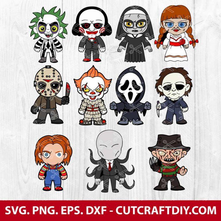 Halloween Horror Movie-Svg Bundle
