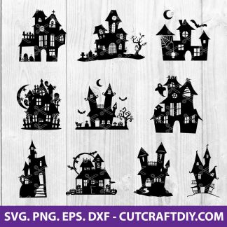 Haunted House SVG File