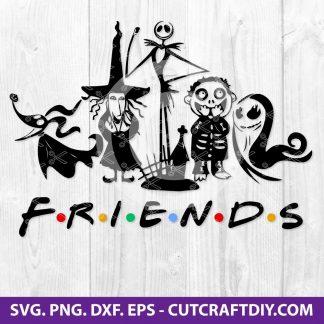 Nightmare Friends Svg