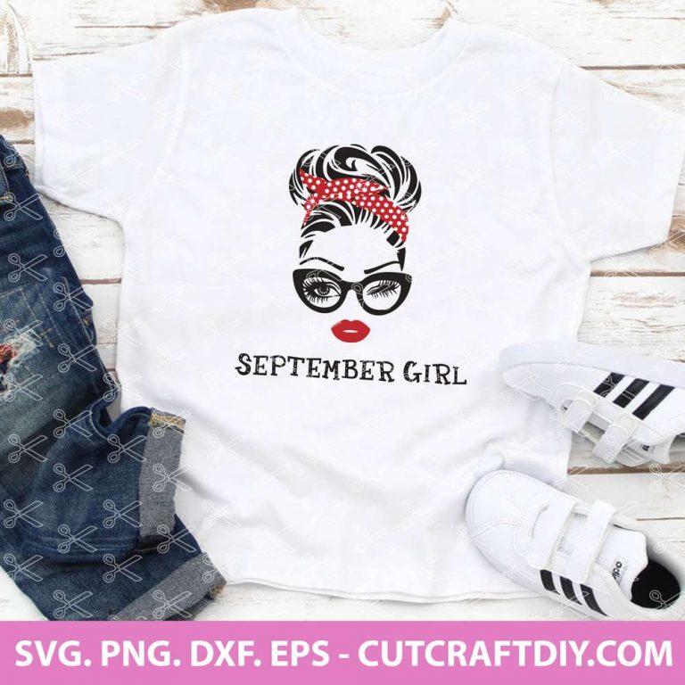 September Girl SVG