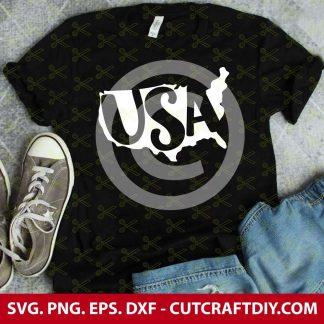 USA Map SVG