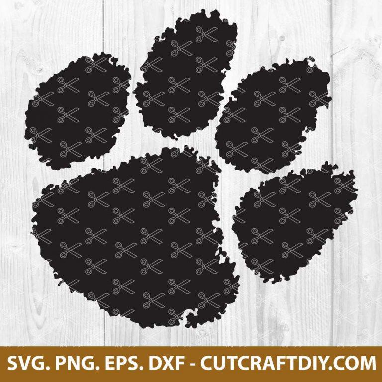 Tiger Paw SVG