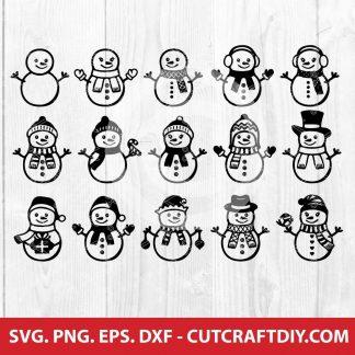 Snowman SVG Bundle