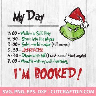 My Day Grinch SVG File