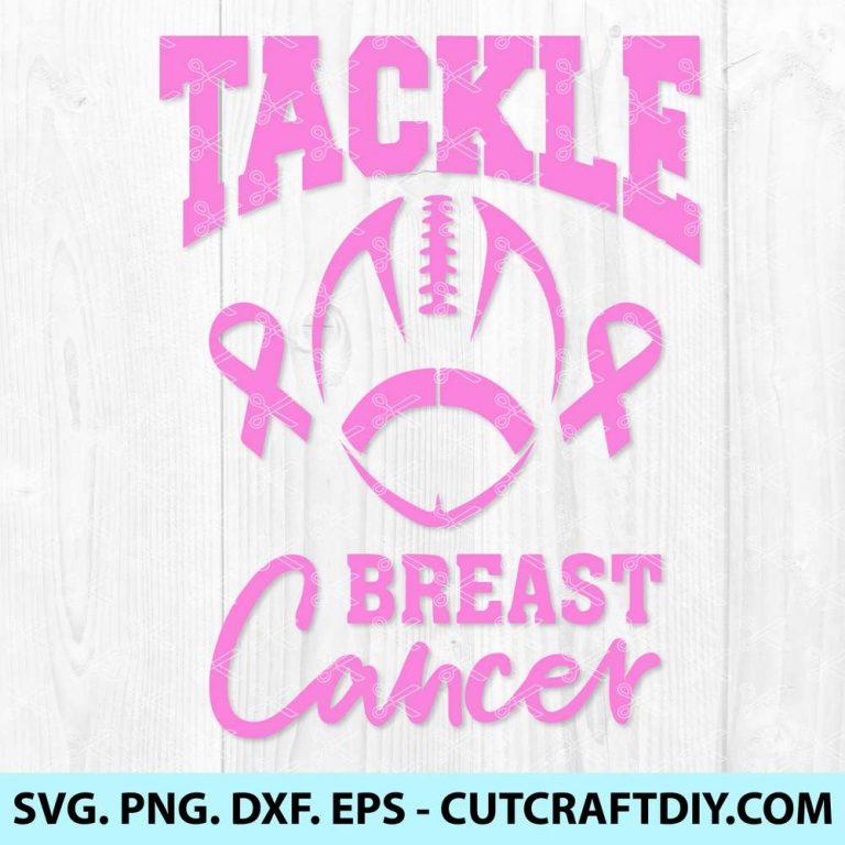 Tackle Breast Cancer svg